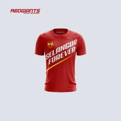 Selangor Forever T-Shirt (Red)